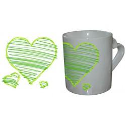 Mug Love Coeur Trio Vert