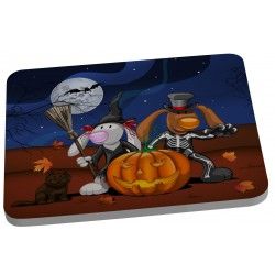 "Tapis de sourie "" Halloween lapins """