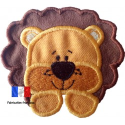 Appliqué Lion bi-color