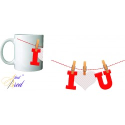 Mug Love linge