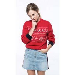 Pullover motif rennes