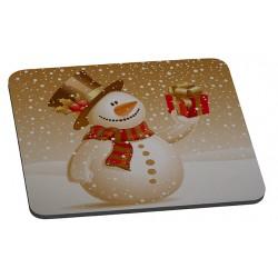 Tapis de souris Bonhomme de neige