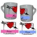 Mug Love Coeur Flêche DUO
