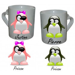 Mug Love Pinguin DUO