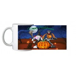 Mug Halloween lapins