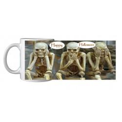 Mug Halloween squelettes