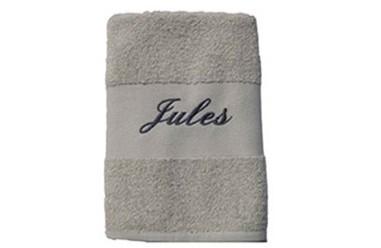 serviette éponge personnalisée