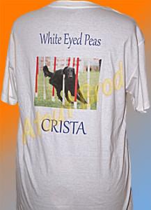 T-Shirt marqué en impression numérique pour un concour canin par Atout Brod Toulouse , Mondonville