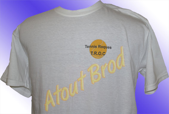 T-shirts imprimés par ATOUT BROD pour le MAGIC CIRCUIT de Roques ( vêtement, marquage textile, Toulouse, Mondonville
